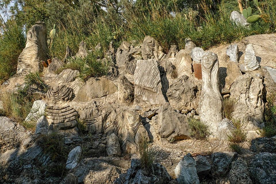 Sculture Parco Jalari