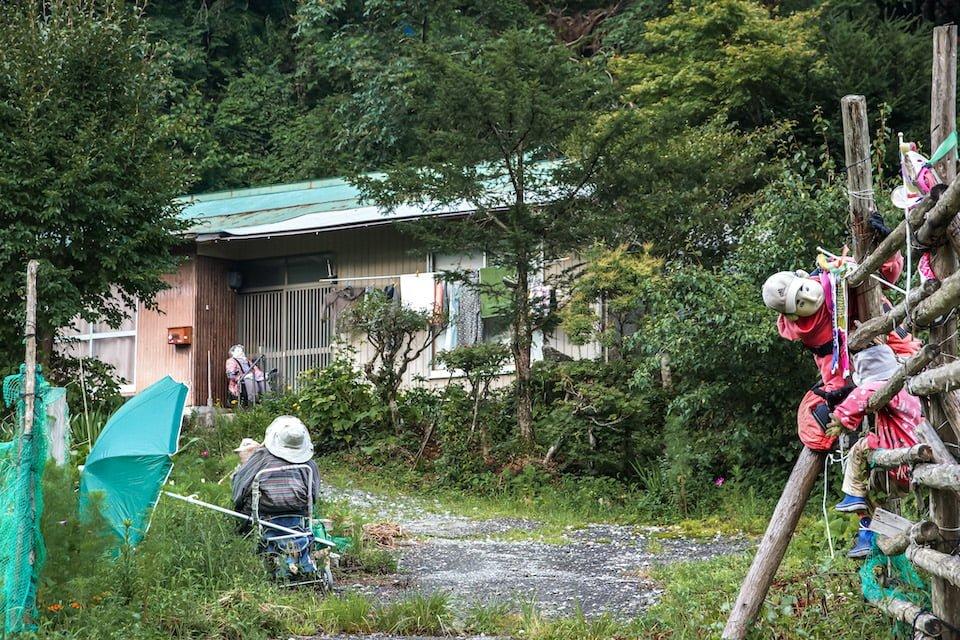 Villaggio degli spaventapasseri Shikoku