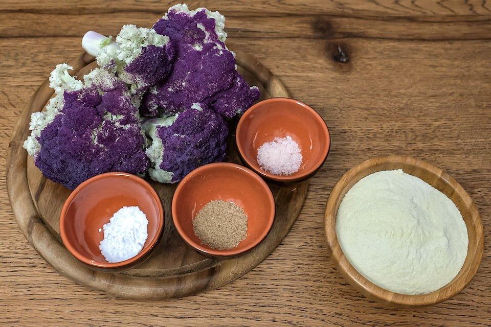 Ingredienti frittelle cavolfiore