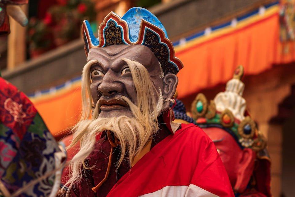 Maschera Ladakh