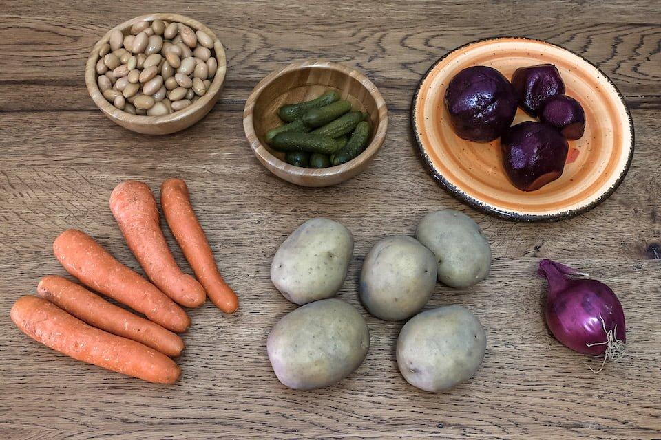 Ingredienti Vinegret