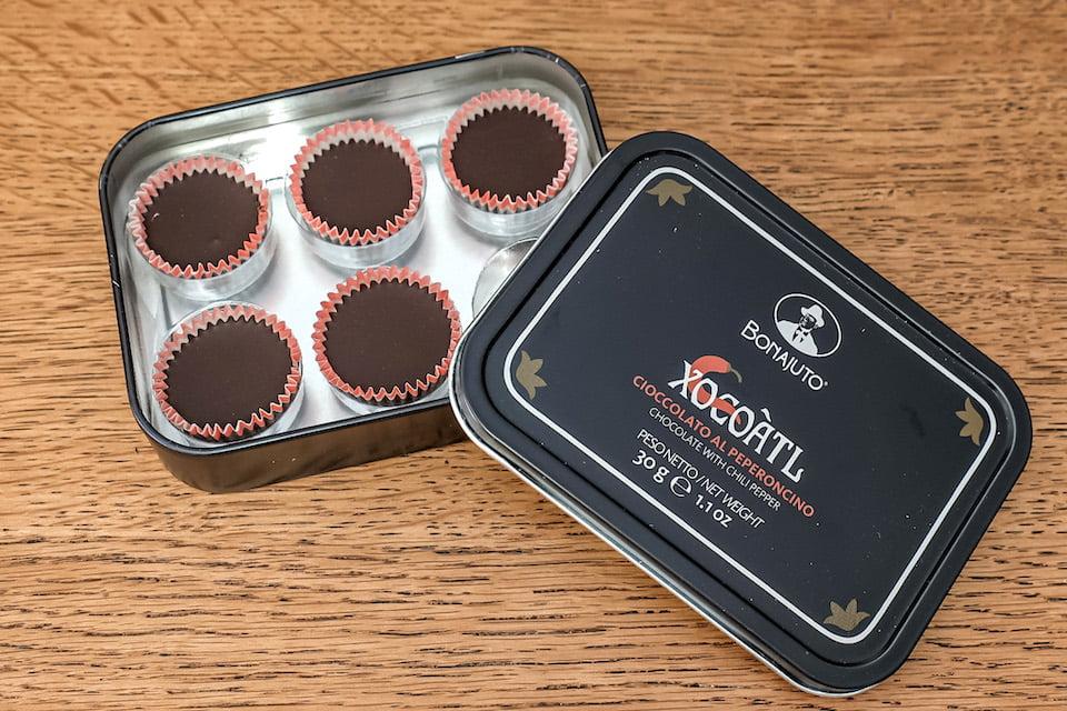 Cioccolato vegano al peperoncino